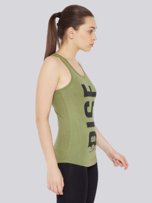 athletic wear, workout wear, workout gear, exercise gear, running apparel, womens workout clothes, activewear for women, gym sleeveless t shirts, gym tank tops, womens workout tank tops, athletic tank tops, printed tank tops, green tank top